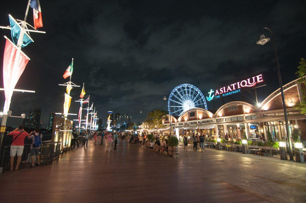 Asiatique - thu hút du khách du lịch Thái Lan