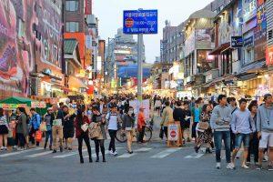 Hongdae – địa điểm phải biết đối với tín đồ du lịch Hàn Quốc giá rẻ