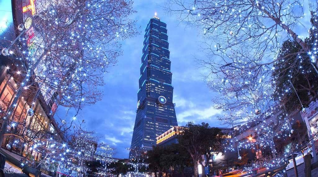taipei 101- biểu tượng check in nổi tiếng khi đi du lịch Đài Loan giá rẻ