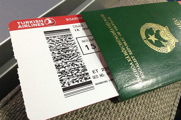 Hộ chiếu du lịch Thái Lan
