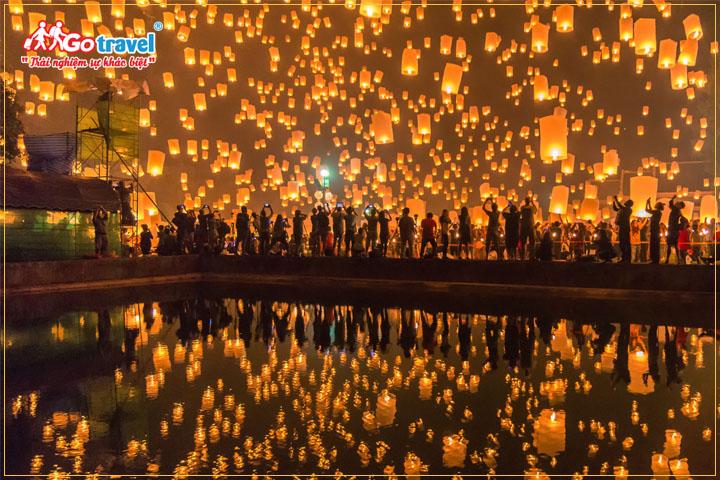 Lễ hội đèn trời Bình Khê