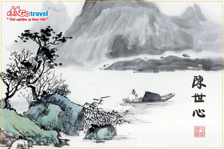 Mua tranh thư pháp Trung Quốc làm quà