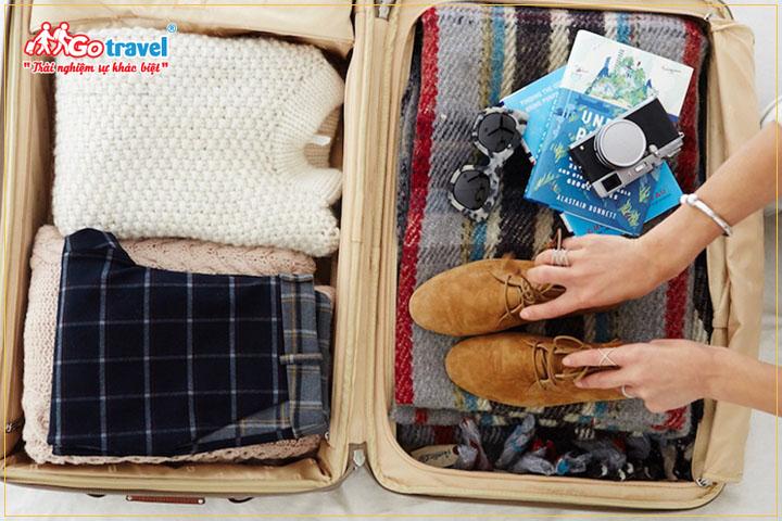 Chuẩn bị hành lý khi đi du lịch Hàn Quốc